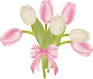 Tulpeblumenstrauß Stockbild