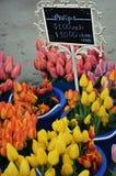 Tulpen für Verkauf Lizenzfreie Stockfotografie