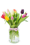 Tulpen im Vase Stockbild