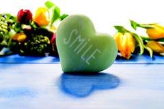 Tulpen und Hyazinthen Lizenzfreies Stockfoto