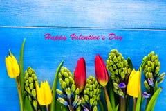 Tulpen und Hyazinthen Lizenzfreies Stockbild