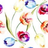 Tulpenbloemen Royalty-vrije Stock Fotografie