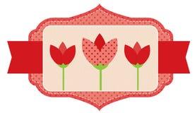 Tulpins Stock Afbeelding