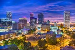 Tulsa, Oklahoma, USA Skyline royalty free stock photos