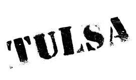 Tulsa stamp rubber grunge Stock Photos