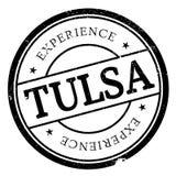 Tulsa stamp rubber grunge Royalty Free Stock Images