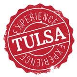 Tulsa stamp rubber grunge Stock Photo