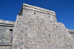 Tulum Archaeological Site Quintana Roo Mexico royalty free stock photos