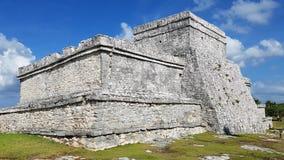 Tulum废墟,墨西哥 库存图片