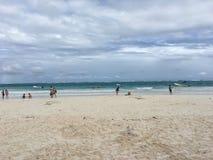 Tulum海滩 免版税库存图片