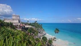 Tulum Μεξικό Στοκ εικόνες με δικαίωμα ελεύθερης χρήσης