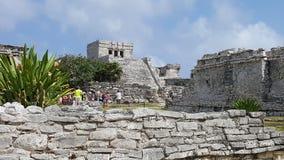 Tulum Μεξικό στοκ εικόνες