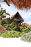 tulum курорта cancun Мексики пляжа залива Стоковые Фотографии RF