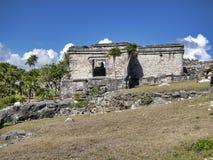 Майяские руины Tulum - Мексики стоковое изображение