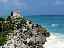 Tulum. Ruins of Tulum on the Yucatan Peninsula Stock Photo