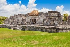 Tulum, archeological περιοχή στο Riviera Maya, Μεξικό Στοκ Εικόνες