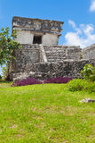 Tulum, archeological περιοχή στο Riviera Maya, Μεξικό Στοκ Φωτογραφία