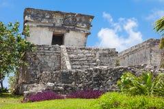 Tulum, archeological περιοχή στο Riviera Maya, Μεξικό Στοκ φωτογραφία με δικαίωμα ελεύθερης χρήσης