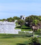 Tulum-Architekturruinen stockfoto