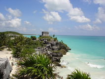Tulum Beach Royalty Free Stock Photo