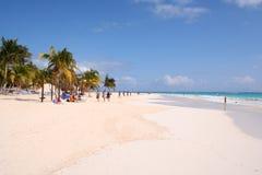Tulum beach. This is the fantastic beach of tulum / Mexico Stock Images