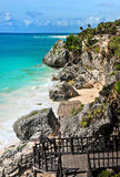 Tulum beach, Mexico Stock Photography
