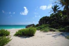 Tulum Beach - Mexico Stock Images