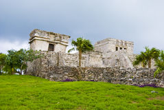 Tulum buildings Stock Image