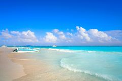Tulum Caribbean beach in Riviera Maya. Tulum Caribbean turquoise beach in Riviera Maya of Mayan Mexico stock photos