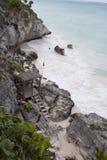 Tulum Caribbean Sea stock photography