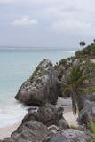 Tulum Caribbean Sea Stock Photos