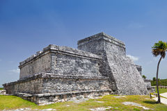 Tulum Castle Mayan Ruins in Quintana Roo, Mexico Stock Photography