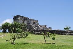Tulum de Maya de la Riviera Photographie stock