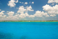 Tulum del mar foto de archivo libre de regalías