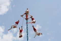 Tulum del rituel del Maya Fotografia Stock