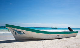 Tulum Karaiby plaża Meksyk Zdjęcie Royalty Free
