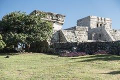 Tulum Maya ruins, Mexico Royalty Free Stock Photos