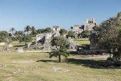 Tulum Maya ruins, Mexico stock photos