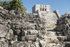 Tulum Maya ruins, Mexico royalty free stock photo