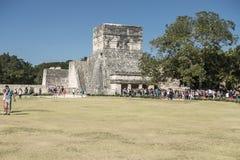 Tulum Maya ruins, Mexico Stock Photography