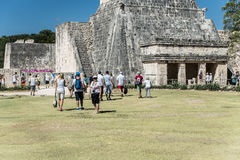 Tulum Maya ruins, Mexico Royalty Free Stock Photography
