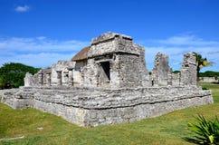 Tulum Maya ruins, Mexico stock images