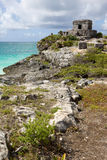 Tulum Mayan Ruins. Royalty Free Stock Photo