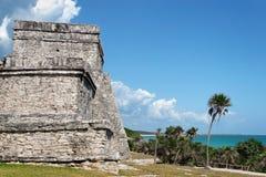 Tulum Mayan ruins Stock Photos
