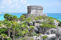 Tulum Mayan Ruins Royalty Free Stock Images