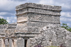 Tulum Mayan Ruins. In Mexico Stock Photo