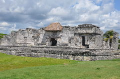 Tulum Mayan Ruins. In Mexico Royalty Free Stock Images