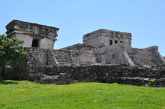 Tulum Mayan Ruins. In Mexico Royalty Free Stock Photography