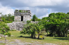 Tulum Mayan Ruins. In Mexico Stock Images