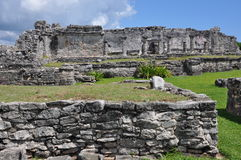 Tulum Mayan Ruins Stock Photo